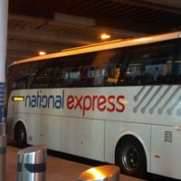 Photo taken at National Express stops 16-18 by Shannon T. on 4/15/2012