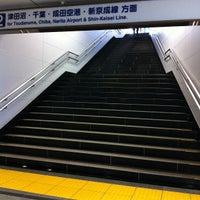 Photo taken at Keisei-Funabashi Station (KS22) by commu_d on 7/29/2012