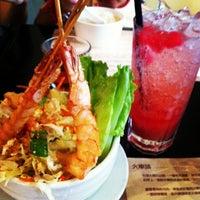 Photo taken at Café Locomotive 火車頭越南餐室 by Teddy K. on 7/1/2012