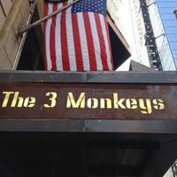 Photo taken at The Three Monkeys by Jason C. on 5/17/2012