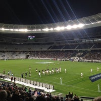 Photo taken at Cape Town Stadium by Robert W. on 6/12/2012