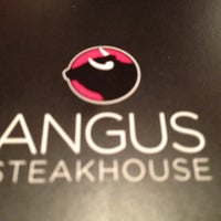 Photo taken at Angus Steakhouse by Andre S. on 5/31/2012