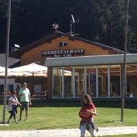 Das Foto wurde bei Restaurant Platzl am See in Antholz von Alex G. am 8/18/2012 aufgenommen