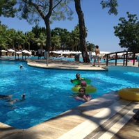 Photo taken at Kemer Holiday Club by Sevcan Y. on 7/14/2012