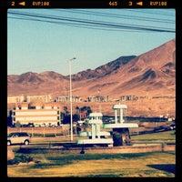 Photo taken at Piletas Salida Sur by Gonantofagasta  on 5/8/2012