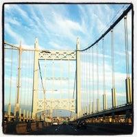 Photo taken at Robert F. Kennedy Bridge (Triborough Bridge) by Randolph H. on 8/7/2012