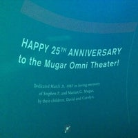 Photo taken at Mugar Omni IMAX Theatre by Geoff S. on 7/7/2012