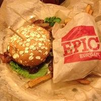 Снимок сделан в Epic Burger пользователем Steve T. 5/5/2012
