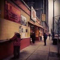 Photo taken at Jim's Original Hot Dog by Matthew S. on 2/23/2012