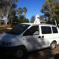 Photo taken at Chifley Alice Springs Resort by DanMissionAust on 7/22/2012