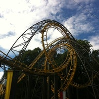 Photo taken at Loch Ness Monster - Busch Gardens by Dustin F. on 9/1/2012