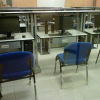 Photo taken at Laboratorio de Computo de Ciencias Básicas by Marta G. on 3/30/2012