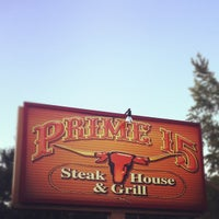 Photo taken at Prime 15 Steakhouse & Grill by Mike H. on 7/2/2012