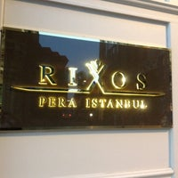Photo taken at Rixos Pera Istanbul by Denis O. on 8/10/2012