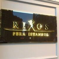 Снимок сделан в Rixos Pera Istanbul пользователем Denis O. 8/10/2012