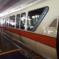 Photo taken at Monorail Orange by Alex G. on 6/23/2012