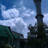 Photo taken at Masjid Saidina Umar Al-Khattab by Izzuddin S. on 4/22/2012