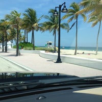Photo taken at Fort Lauderdale Beach by Hank G. on 8/12/2012