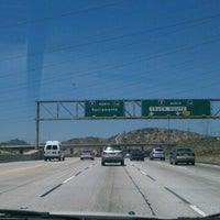 Photo taken at Interstate 5 (Golden State Freeway) by Isaac M. on 5/16/2012