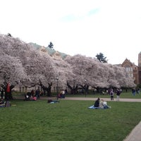 Photo taken at UW Quad by Perry P. on 4/1/2012