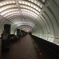 Photo taken at Cleveland Park Metro Station by William l. on 8/1/2012