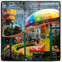 Photo taken at Nickelodeon Universe® by Sarah K. on 8/26/2012
