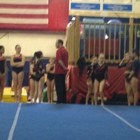 Photo taken at All Stars Gymnastics Academy by Mike E. on 4/29/2012