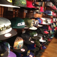 Photo taken at New Era Flagship Store: Buffalo by Deborah C. on 8/4/2012