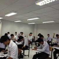 Photo taken at อาคาร 16 วิศวกรรมอุตสาหการ by จิตติวัฒน์ น. on 7/27/2012