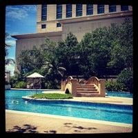 Photo taken at Radisson Blu Hotel Cebu by Iris C. on 9/10/2012