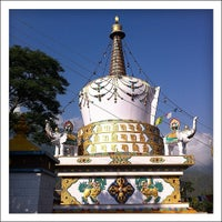 Photo taken at Dalai Lama Temple   दलाई लामा मंदिर by Evgeny S. on 7/6/2012