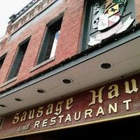 Photo taken at Schmidt's Restaurant und Sausage Haus by Alicia A. on 7/21/2012