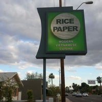 Photo taken at Rice Paper by Neema E. on 4/15/2012