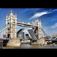 Photo taken at Tower Bridge by Steven E. on 9/3/2012