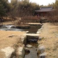 Photo taken at 이승기 연못 by Choonghyun L. on 3/3/2012
