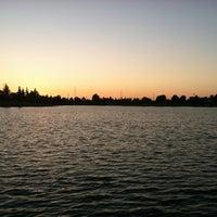 Photo taken at Kiwanis Park by Renju on 6/30/2012