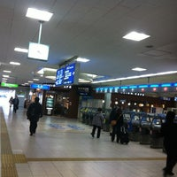 Photo taken at Ibaraki Station by Pinky S. on 2/20/2012