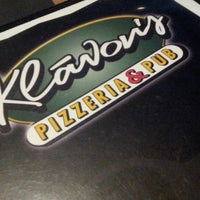 Photo taken at Klávon's Pizzeria & Pub by Andrew M. on 9/1/2012