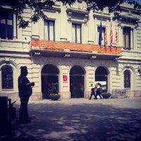 Photo taken at Ajuntament de Les Corts by Daria C. on 9/12/2012