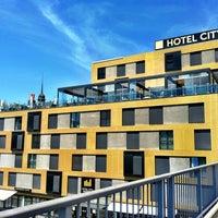 Photo taken at Hotel City Maribor by Aleša M. on 5/16/2012