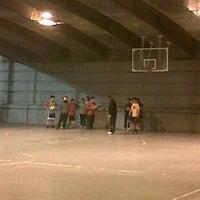Photo taken at Estadio BasketBall C.P. Roser by Ramon M. on 2/24/2012