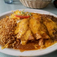 Photo taken at La Palma Family Mexican Restaurant by Mike M. on 4/25/2012