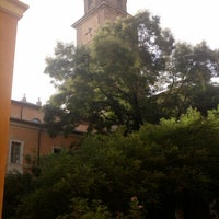 Photo taken at Student's Hostel della Ghiara by Fabrice D. on 8/6/2012