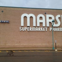 Photo taken at Marsh Supermarket by Eric A. on 4/16/2012