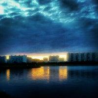 Снимок сделан в Братеевский каскадный парк пользователем Илья А. 6/9/2012