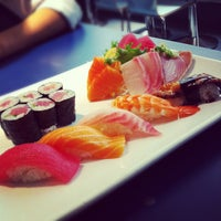 Photo taken at Omi Sushi by Link on 2/8/2012