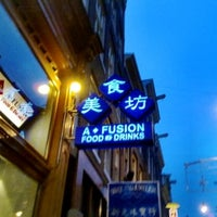 Photo taken at A-Fusion by Aj V. on 7/27/2012