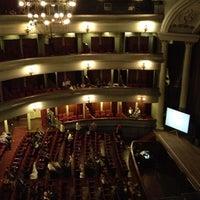 Photo taken at Teatro Popular Melico Salazar by Gustavo P. on 7/8/2012