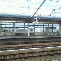 Photo taken at JR 姫路駅 11番ホーム by Yasuyuki T. on 5/1/2012