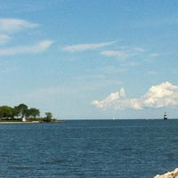 Photo taken at Calf Pasture Beach by Paul C. on 6/7/2012